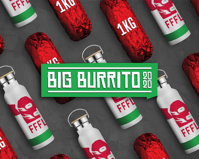 It's a fiesta of fresh fuel and authentic flavour with the Mad Mex Big Burrito!