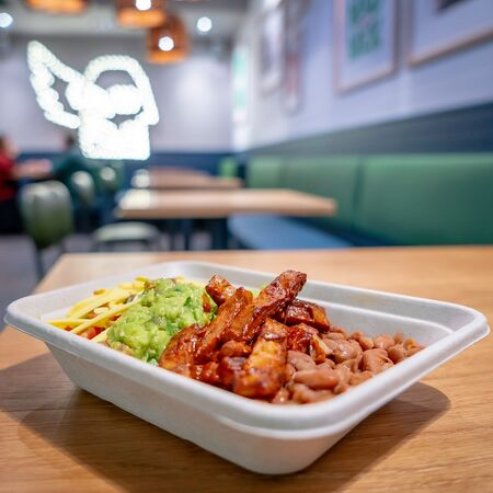 Do your bit with a Burrito! Vegan food is delicious AND great for the environment, and we're here to prove it!